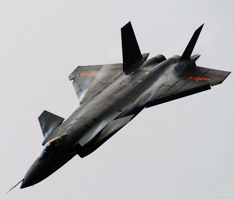 And Obama is Cutting Our Defense and Space Programs Why? See the New Pictures of China's 'Mighty Dragon' J-20 Stealth Fighter...""