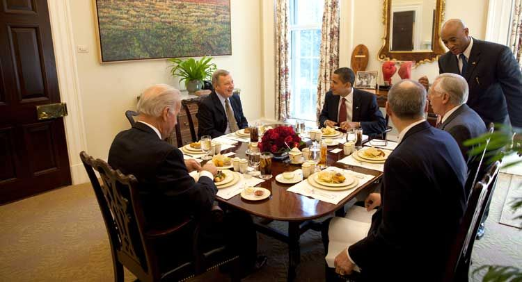 White House Has MSNBC Hosts Over for Breakfast...
