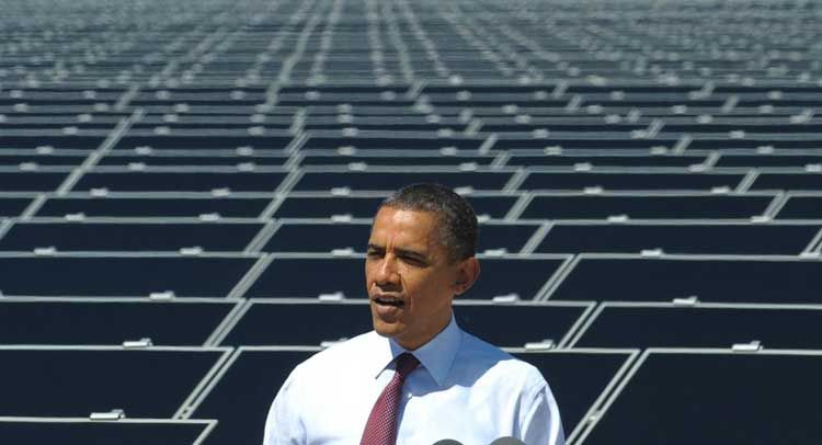 Obama Calls Republicans Out Of Touch...At A Solar Plant During A GASOLINE Crisis...