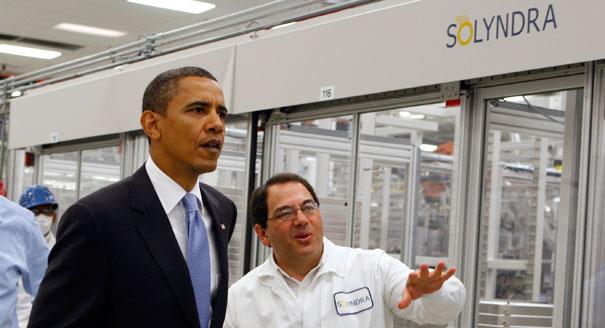 Obama Blames Congress for Solyndra...