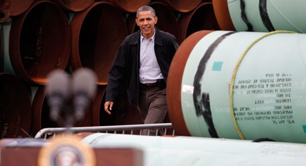 Obama in Oklahoma: Make southern Keystone 'a priority'... TPB: Obama has no authority of approving this part of pipeline; Obama & media misleading country...