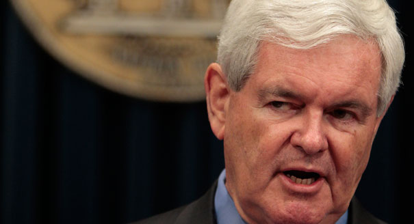 Gingrich Says Elite Media Hiding Obama's Muslim Friends...