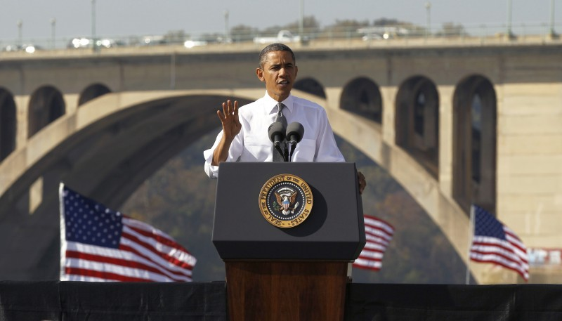 President Obama Pushes For $109 Billion Transportation Bill...