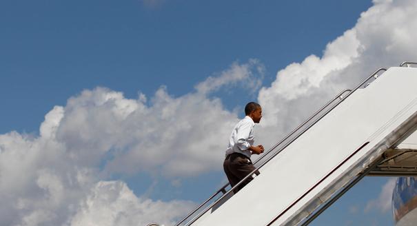 Obama Campaign Engine Revs Up on Public Dime, Again...