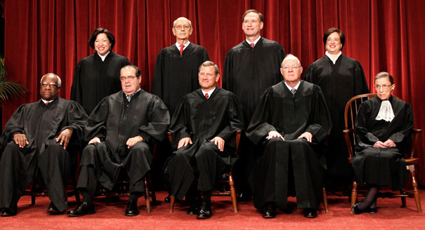 PAPER: Dem-appointed justices will move in lockstep; GOP-appointed justices look to Constitution...
