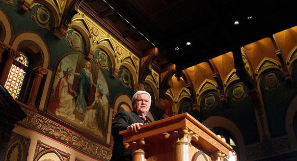 POLITICO: Gingrich puts political legacy at risk...