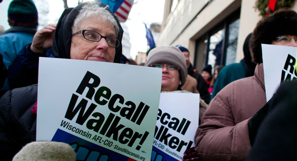 Scott Walker recall set for June 5...