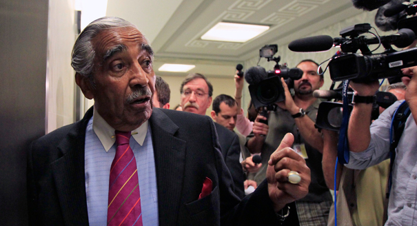 Charlie Rangel rips Ethics Committee, media after hand got caught in the corruption cookie jar...
