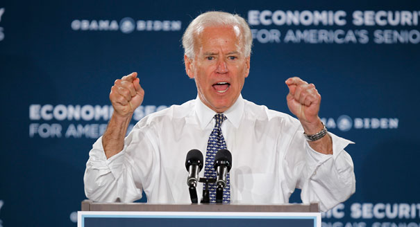 Biden Blames High Unemployment on 'This God-Awful Recession We've Inherited'