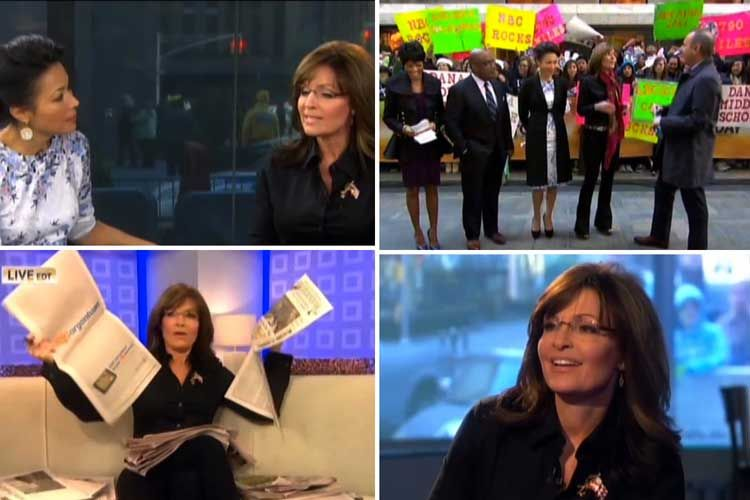 Palin Goes Rogue on 'Today' Show...