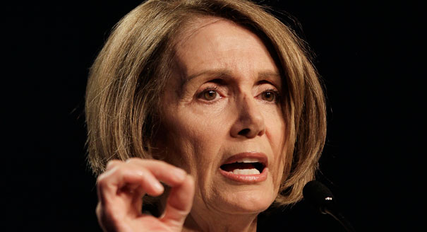 Pelosi Caught Telling a Flat Out Lie to Charlie Rose...