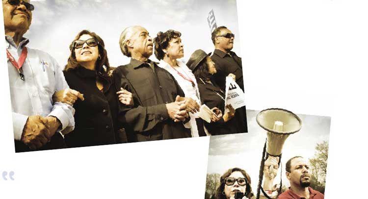 'Take to the Streets': Obama Labor Dept. Glorifies Sharpton, Jackson in Protest-Preaching Poster...