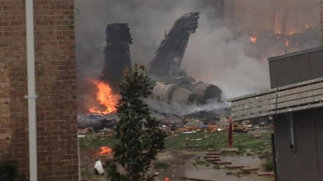 URGENT: Navy Jet Crashes In Virginia Beach Apartment Building...
