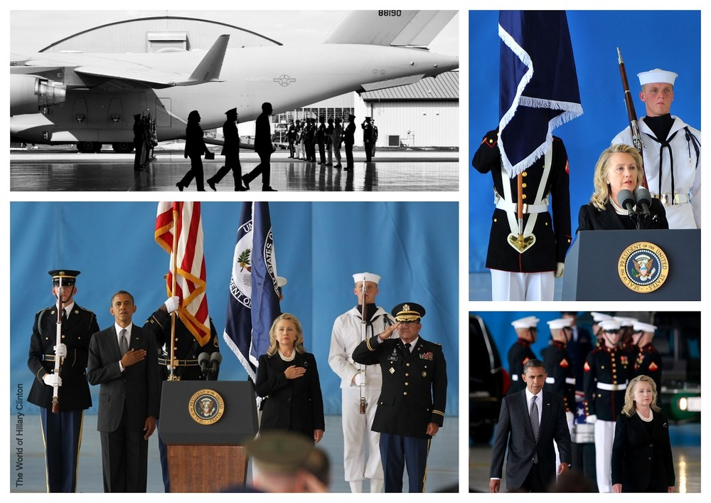 President Obama and Secretary Clinton Deliver Remarks at Andrews Air Force Base, marking the return to the United States of the remains of the four Americans killed in Benghazi, Libya.jpeg