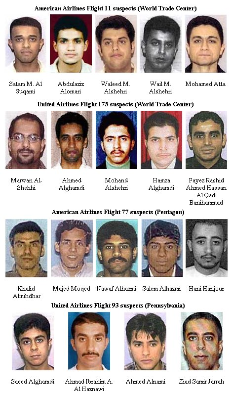 I guess the Obama admin has forgotten that 15 of the 19 hijackers on 9/11 came from Saudi Arabia...