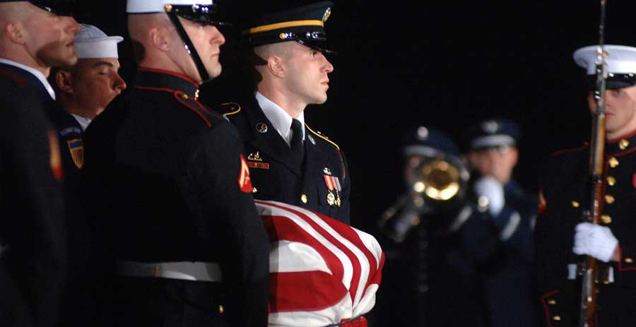 H/T inalHonors.org (A military funeral honors resource website for families of deceased veterans)