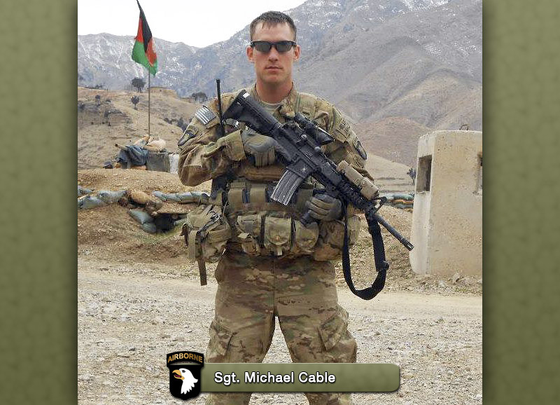 Sgt. Michael Cable, 26