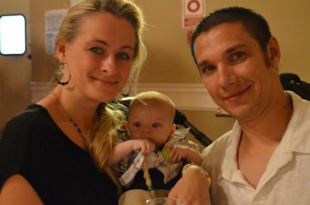 Anna and Alex Nikolayev with their baby, Sammy. (Photo: Facebook/Bring Sammy Home)