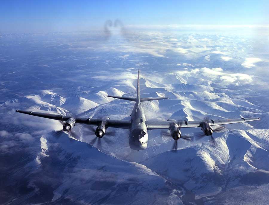 """Russian Ту–95 Bomber, a.k.a. """"Bear"""""""