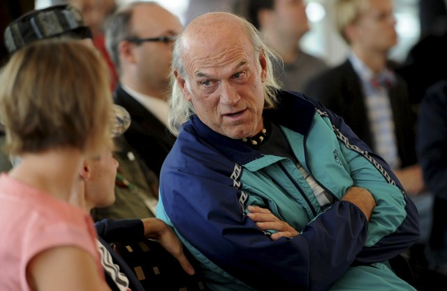 Former Minnesota Gov. Jesse Ventura is pictured at a rally for Libertarian Party presidential candidate Gary Johnson in 2012. (Pioneer Press file photo: Jean Pieri)