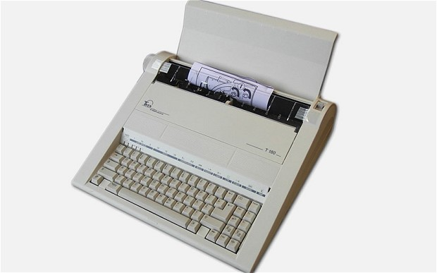 German-made Triumph Adler Twen 180 typewriters were popular in the late '80s and early '90s