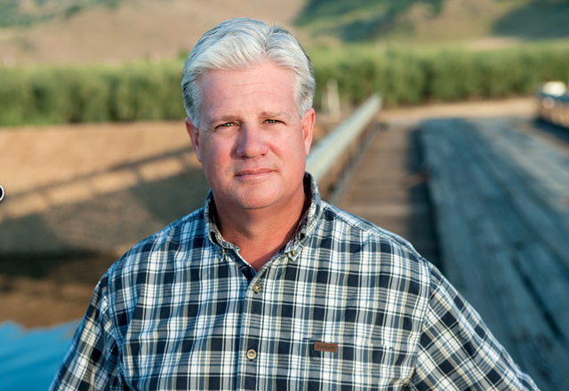"""Fresno cherry farmer and cattle rancher Andy Vidak, who is fluent in Spanish, said he captured the state Senate seat in last week's closely watched runoff vote by connecting with Hispanic voters with a """"common-sense"""" approach that focused on job creation, affordable energy and opposition to big government. (Screen grab from VidakforSenate.com)"""