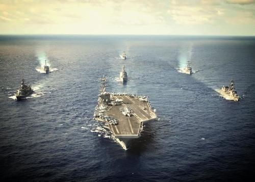 Uss Nimitz Carrier Strike Group 93