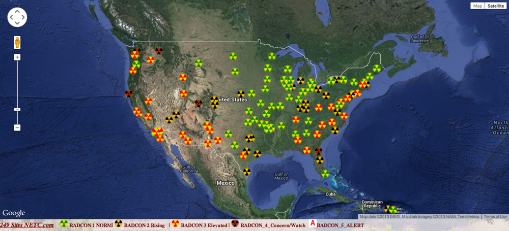 Source:  Nuclear Emergency Tracking Center