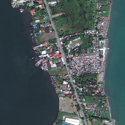Tacloban City: Feb. 2012   DIGITALGLOBE / GETTY IMAGES
