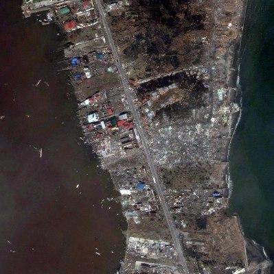Tacloban City, Philippines: Nov. 10, 2013   DIGITALGLOBE / GETTY IMAGES