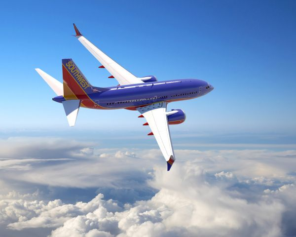 Southwest Airlines Max 7 - 737 Artwork
