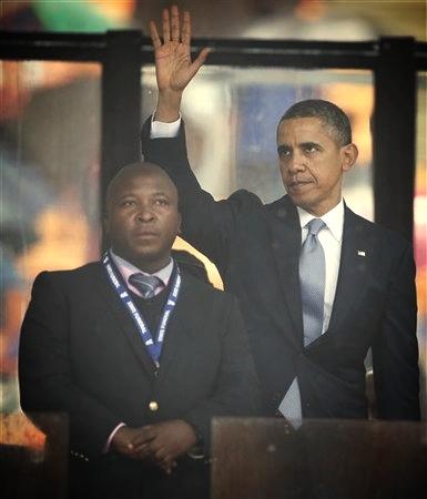 South Africa Mandela Interpreter