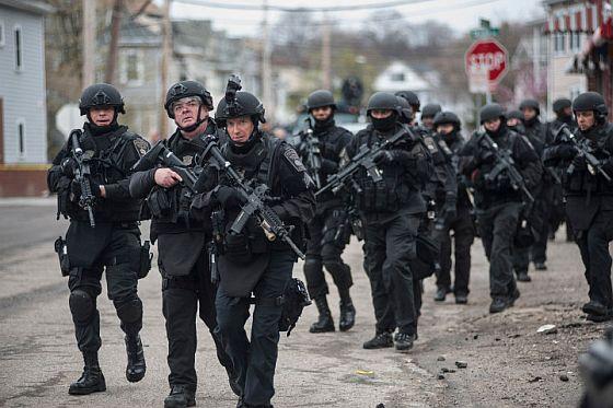 Martial law training? 300 acre town includes sports stadium, school, underground subway