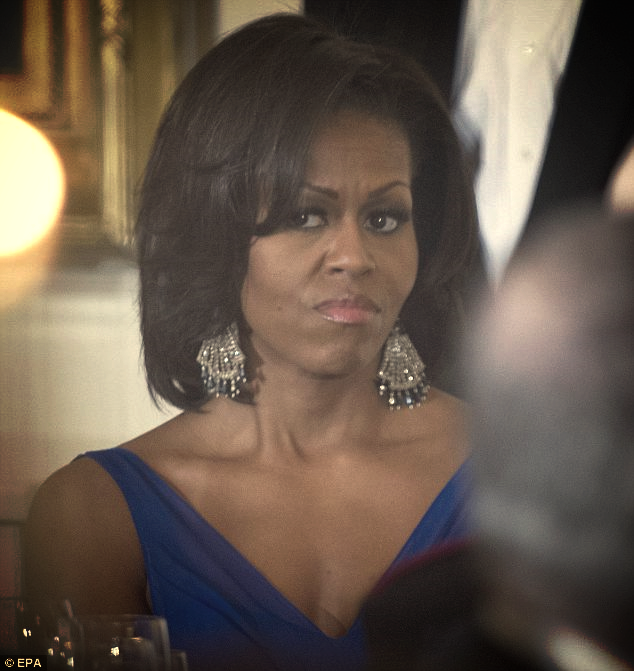 UPDATE: MICHELLE O SCRAPS GRADUATION SPEECH AFTER PROTESTS...   Will headline 'senior recognition day'...   FLASHBACK: 'She doesn't know our kids'...