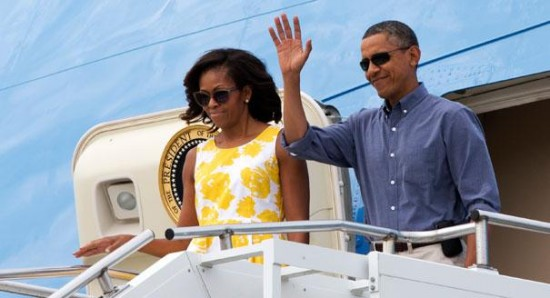 How many multi-million dollar vacations has she taken since her husband took office?  (Weasel Zippers)