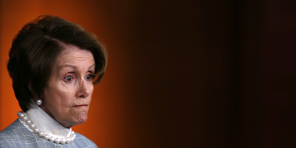 """Pelosi: """"It's not a crisis, it's an opportunity"""""""