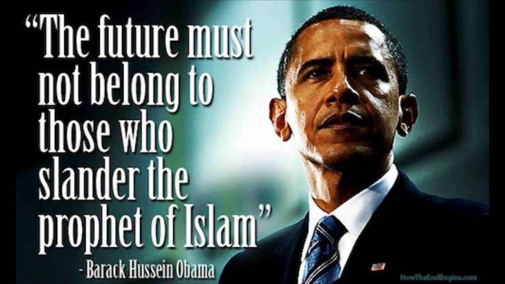 RELATED:  Media ignore Obama attack on 'those who slander the Prophet of Islam'