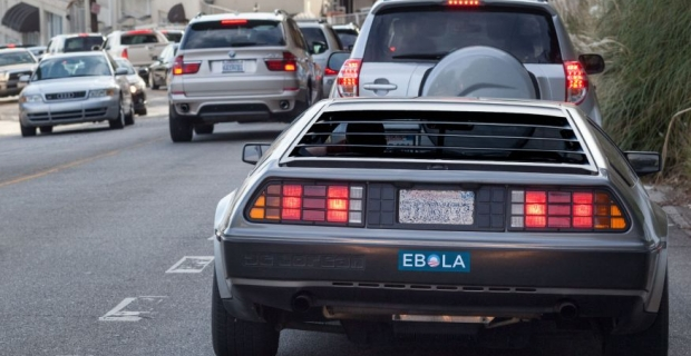 Obama Ebola Bumper Stickers Appear Around Los Angeles