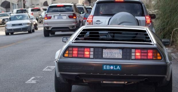 Obama Ebola Bumper Stickers Appear Around Los Angeles