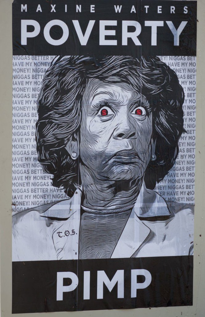 Maxine-Waters-Poverty-Pimp-Posters-in-Inglewood-665x1024.jpg
