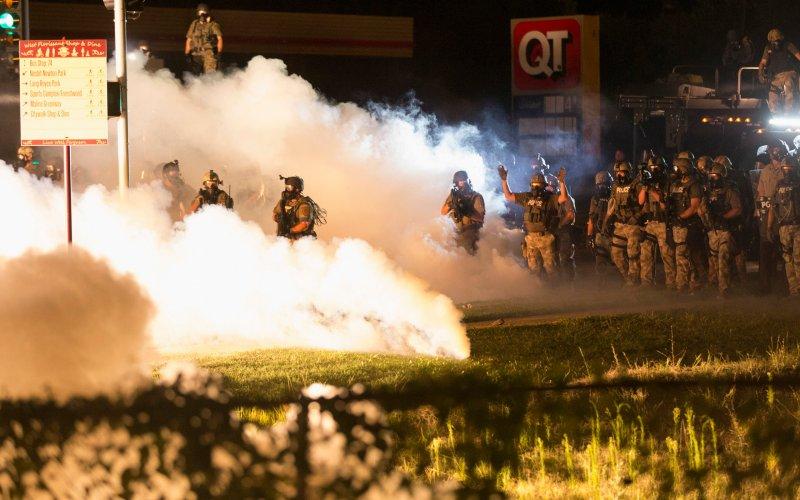 When asked where the buck stops in Ferguson, Missouri, Gov. Jay Nixon literally went silent
