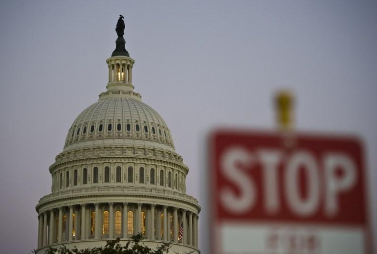 US - POLITICS - GOVERNMENT- SHUTDOWN