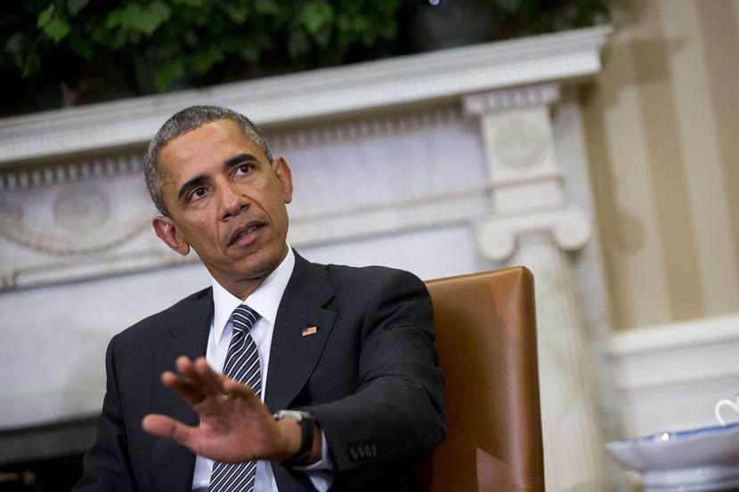 President Obama meets new Secretary of Defense Ashton Carter in