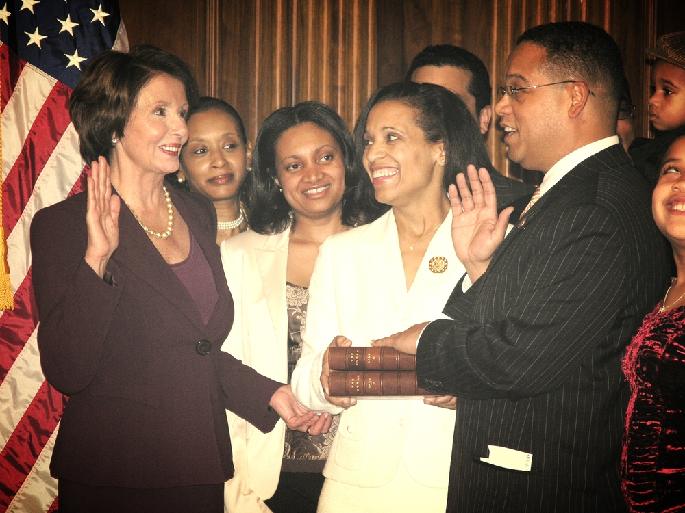 Congressman Ellison's photo-op reenactment of his swearing in ceremony with a Quran