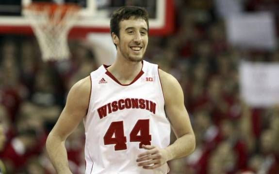 Wisconsin senior basketball star Frank Kaminsky