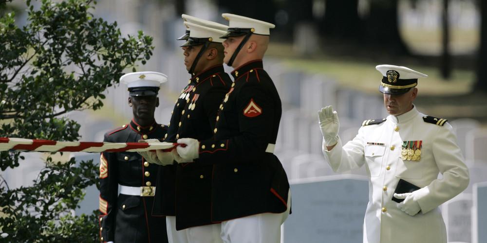Iraq Arlington Burial