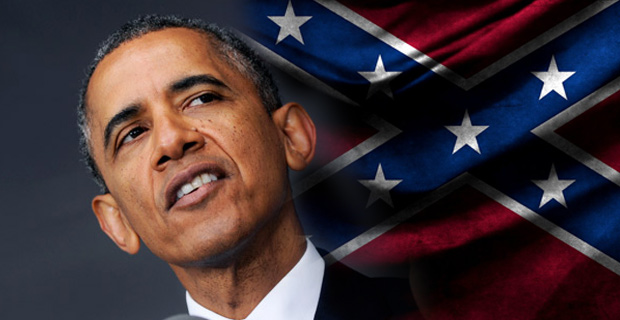 Hypocrisy: Obama defends slavery, then attacks rebel flag for ties to slavery
