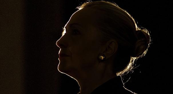 APTOPIX Clinton US South Africa