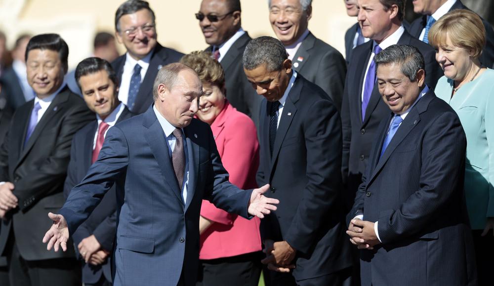 APTOPIX Russia G20 Summit
