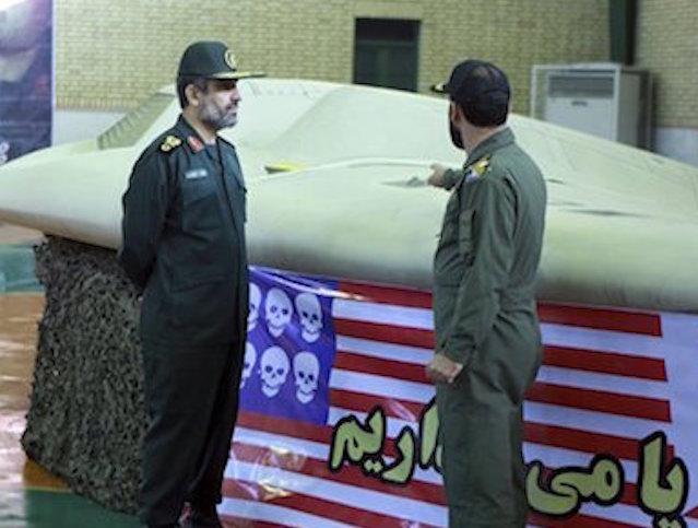 Mideast Iran US Drone